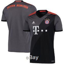 Adidas Bayern Munich Gray 2016/17 Away Jersey