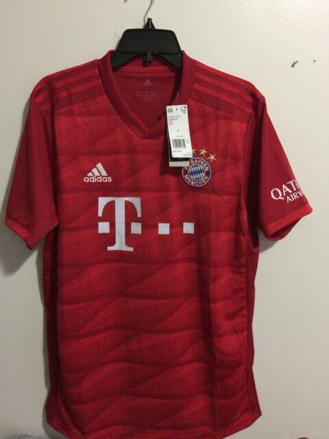 Adidas Bayern Munich Home 2019-20 Red White Jersey Size L Mens Only