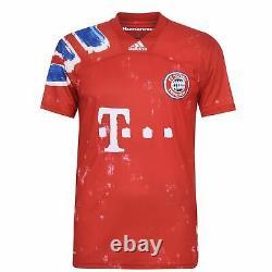Adidas Bayern Munich Humanrace FC Shirt Mens Gents Domestic Jersey
