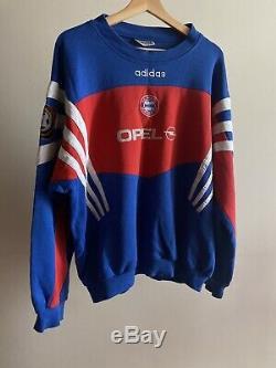 Adidas Bayern Munich Jersey Vintage Patch Sweater