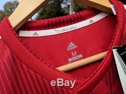 Adidas Bayern Munich Lewandowski #9 Match Player Jersey Medium 2018/19 MSRP 160$