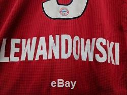Adidas Bayern Munich Lewansowski #9 Match Player Jersey Medium 2018/19 MSRP 160$