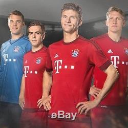 Adidas Bayern Munich Long Sleeve Home Jersey 2015/16