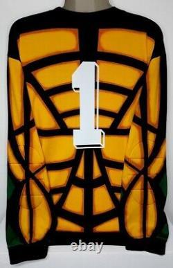 Adidas Bayern Munich Ls Long Gk Uefa Champion 1996 Kahn Original Jersey Shirt