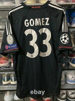 Adidas Bayern Munich Mario Gomez Third UCL Jersey / Shirt 2011-12 sz L BNWT