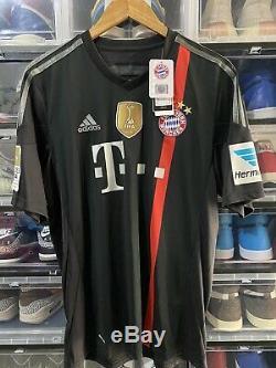 Adidas Bayern Munich Muller Third Jersey / Shirt 2014-15 BNWT sz L