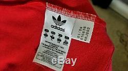Adidas Bayern Munich München Vintage Retro Jersey Shirt Trikot Sz XL RUMMENIGGE
