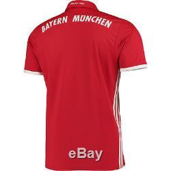 Adidas Bayern Munich Red/White 2016/17 Home Jersey