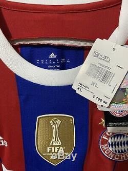 Adidas Bayern Munich Robben Home Jersey/Shirt 2014-15 BNWT sz XL