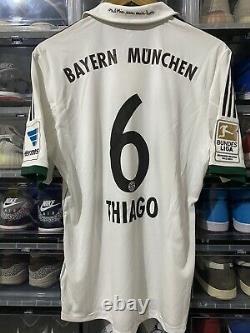 Adidas Bayern Munich Thiago Away Jersey / Shirt 2012-2013 BNWT sz L