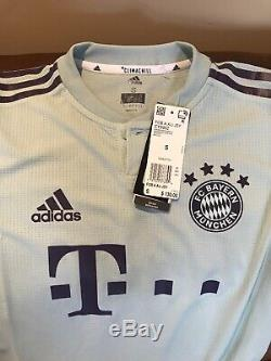 Adidas Climachill Bayern Munich Germany Away 18/19 Soccer Jersey NWT Size S Men