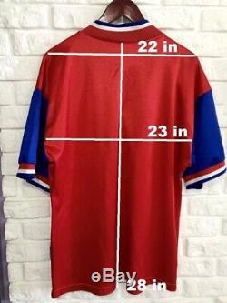 Adidas Equipment Bayern Munich 1993-95 Opel Shirt Jersey Football Soccer Munchen