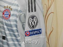 Adidas FC Bayern Munich FCB Mens Goalkeeper Jersey Shirt 2018 2019 Neuer 1