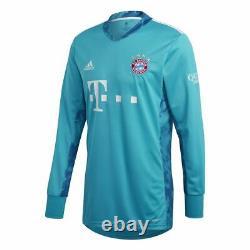 Adidas FC Bayern Munich Football Soccer Mens Goalkeeper Jersey Shirt 2020 2021