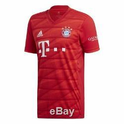 Adidas FC Bayern Munich Football Soccer Mens Home SS Jersey Shirt 2019 2020 Red