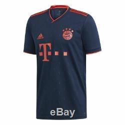 Adidas FC Bayern Munich Football Soccer Mens Third 3rd Jersey Shirt 2019 2020