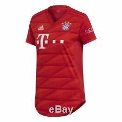 Adidas FC Bayern Munich Football Soccer Womens Home SS Jersey Shirt 2019 2020
