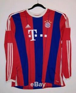 Adidas FC Bayern Munich Futbol Soccer Jersey 2XL XXL Long Sleeve