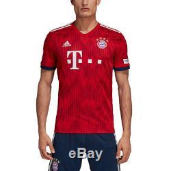 00f9afb7f31 Adidas Fc Bayern Munich Mens Kids Football Home Jersey Shirt 2018 2019  Name numb