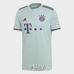 Adidas FC Bayern Munich Official 2018 2019 Away Soccer Football Jersey