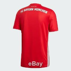 Adidas FC Bayern Munich Official 2020 2021 Home Soccer Jersey