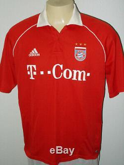 Adidas Fc Bayern Munchen Bastian Schweinsteiger #31 Red Soccer Jersey Men XL
