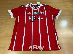 Adidas Fc Bayern Munchen German T-mobile Climacool Soccer Futbol Jersey M
