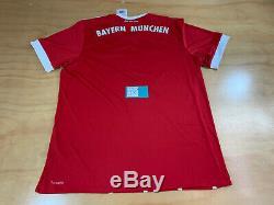 Adidas Fc Bayern Munchen German T-mobile Climacool Soccer Futbol Jersey XL