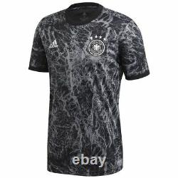 Adidas Germany 2020 Elite Training Soccer Jersey Brand New Black White