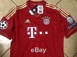 Adidas Germany Fc bayern Munich Lahm Trikot Football Jersey Uefa, XXl shirt