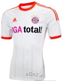 Adidas Germany bayern Munich Shirt Small Trikot Football Soccer jersey