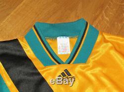Adidas Jersey Bayern Munich No. 7 Scholl Away Shirt 1993-95 Size M