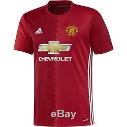 Adidas Manchester United 2016 2017 Home Soccer Jersey Brand New Red