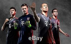 Adidas Manuel Neuer Bayern Munich Away Jersey 2016/17