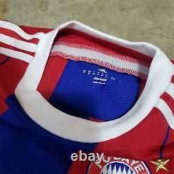 Adidas Men's Bayer Munich Lahm Red Football Soccer Jersey size M