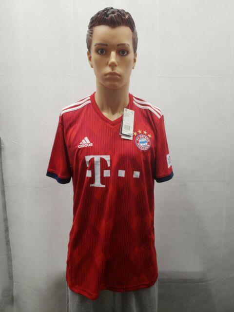 Adidas Men's Bayern Munich 18/19 Home Jersey True Red/strong Red/white Cf5433