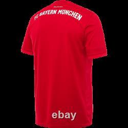 Adidas Men's Bayern Munich 2019-2020 Stadium Replica Home Jersey New