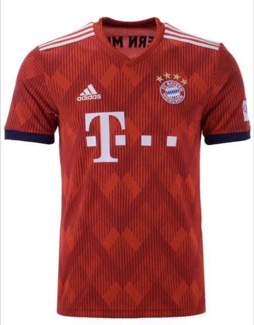 Adidas Men's Bayern Munich Home Jersey 2018 World Cup Medium Bnwt 100% Authentic