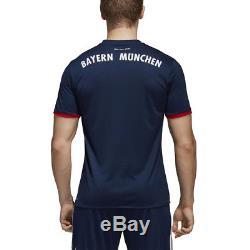 Adidas Men's FC Bayern Munich Away Collegiate Navy/FCB True Red Jersey AZ7937