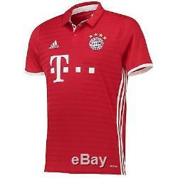 Adidas Mens Gents Football Soccer Bayern Munich Home Shirt