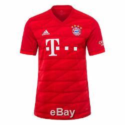 Adidas Official Mens FC Bayern Munich Home Football Shirt Jersey Top 2019-20