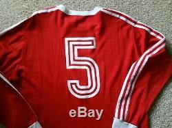 Adidas Originals Germany Vintage Retro Bayern Munich Jersey Shirt Trikot Sz 9/XL