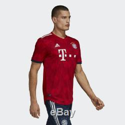 Adidas R. Lewandowski Bayern Munich Authentic Match Home Jersey 2018/19 Patch