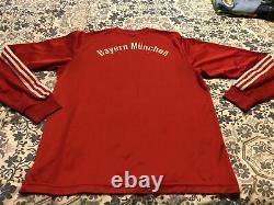 Adidas Retro Vintage FC Bayern Munich Soccer Jersey Football Shirt XL