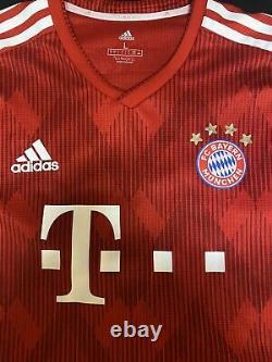 Adidas Robert Lewandowski #9 Bayern Munich Authentic Climachill Jersey Size L