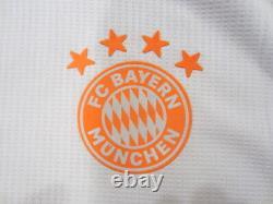 Adidas Robert Lewandowski Bayern Munich Bundesliga Match Away Jersey 2020/2021