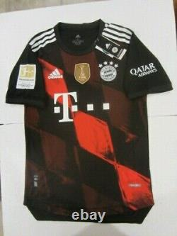 Adidas Robert Lewandowski Bayern Munich Bundesliga Match Third Jersey 2020/2021
