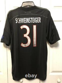 Adidas Schweinsteiger Bayern Munich Uefa Champions League Third Jersey 2014/15