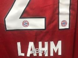 Adidas XL 2005-2006 Phillipe Lahm Bayern Munich Shirt Jersey Kit Camiseta Custom