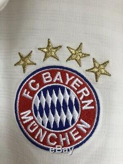 Adidas XL 2013-2014 Thiago Alcantara Bayern Munich Shirt Jersey Kit Camiseta